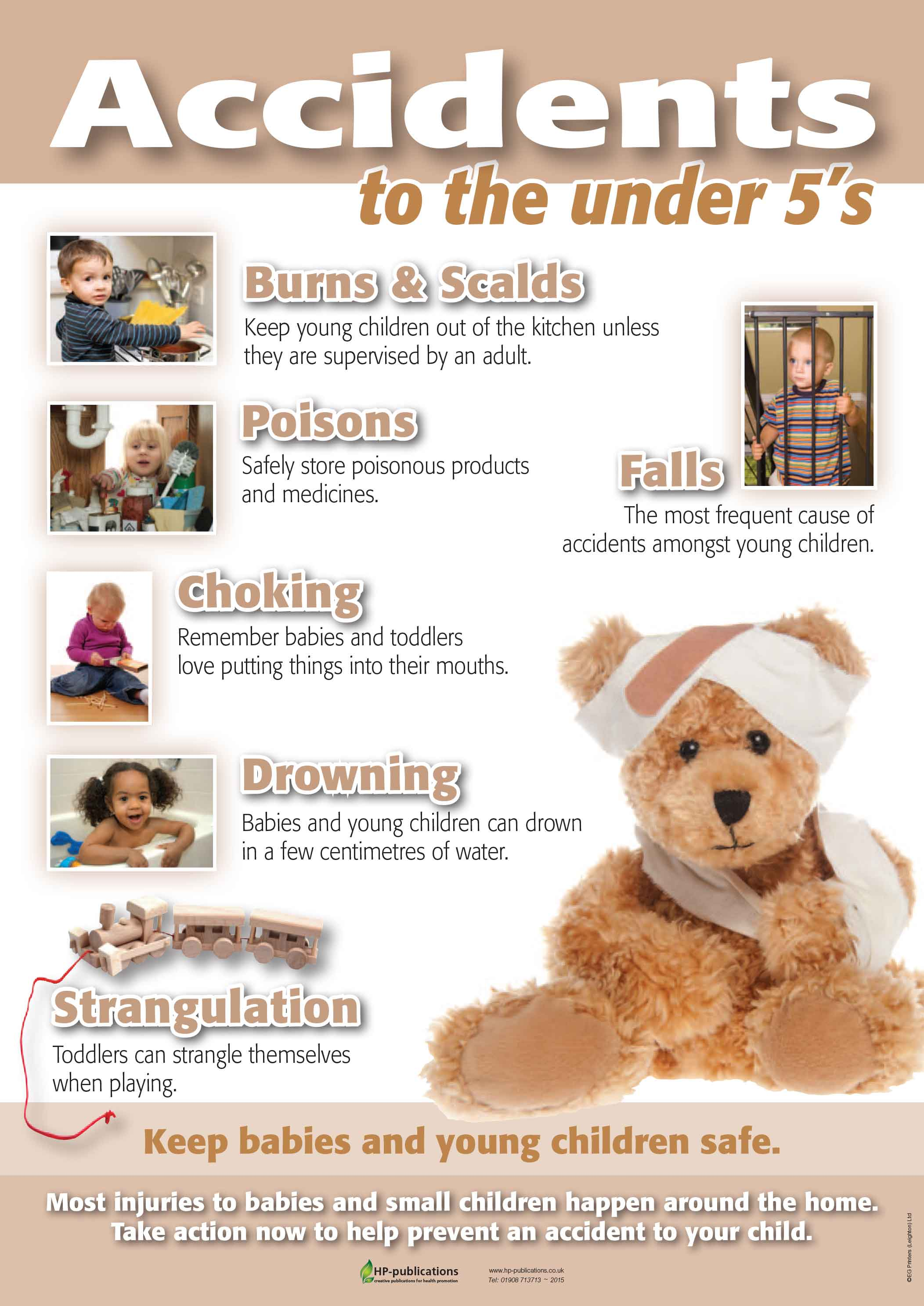 Accidents to the under 5's