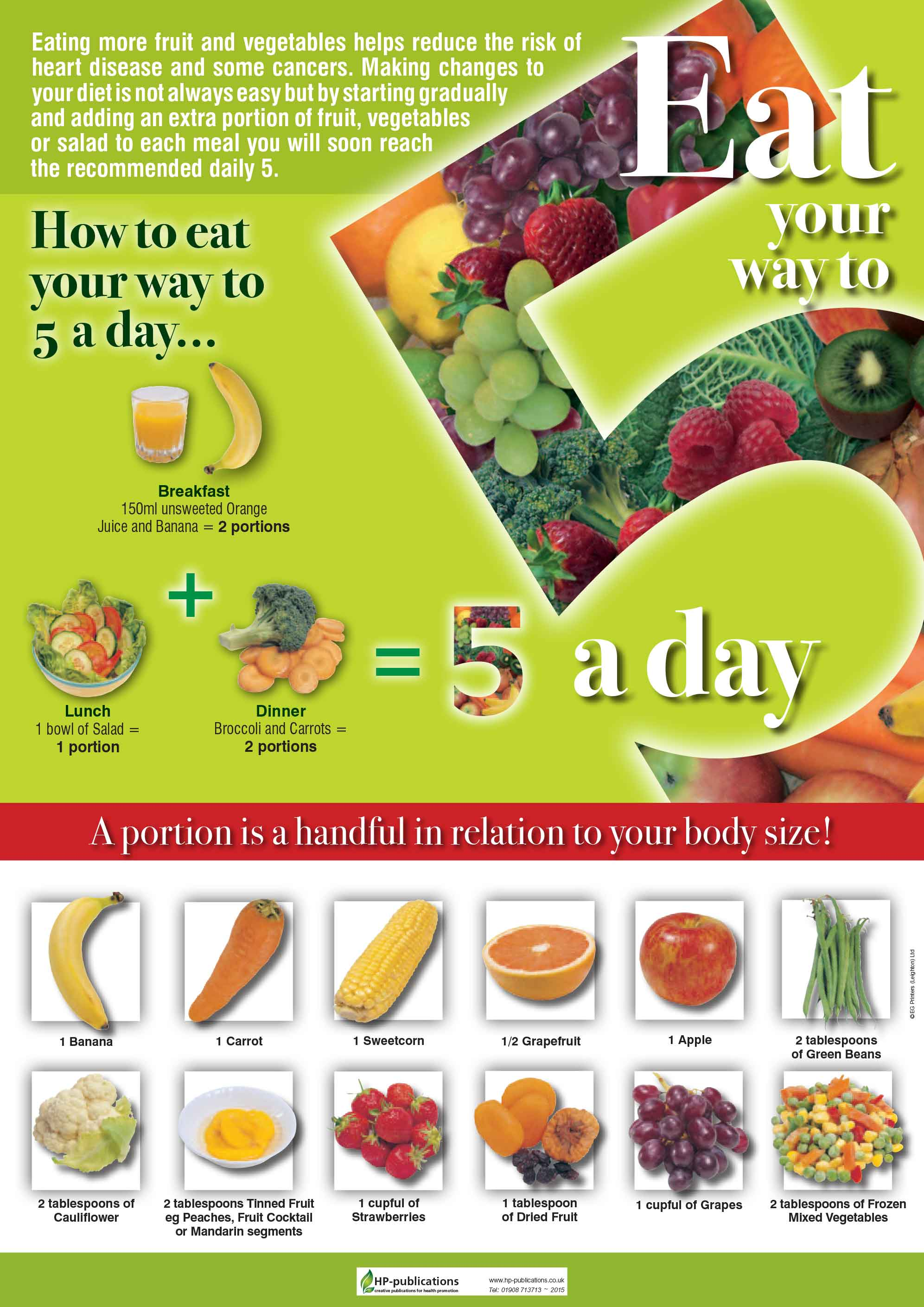 Eat your way to 5 a day