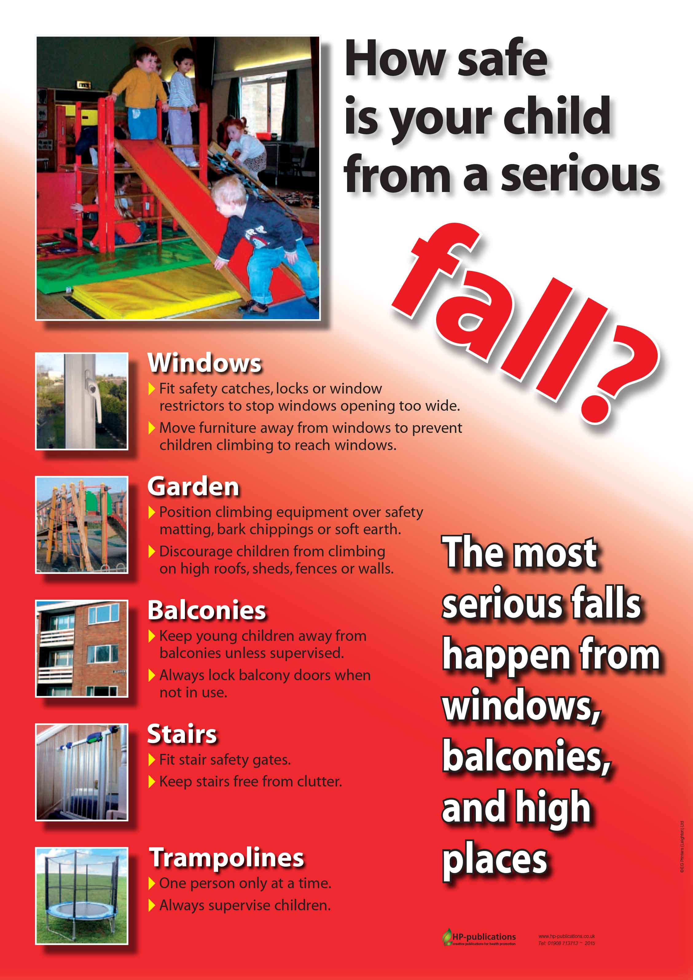 How safe is your child from a serious fall?